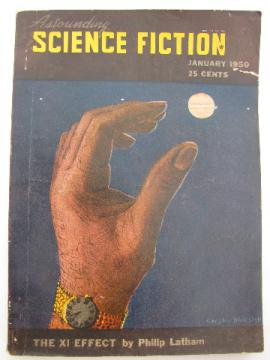 Early 1950s pulp sci-fi magazine Astounding Science Fiction, Poul Anderson