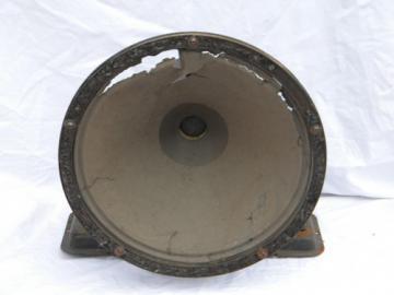 Early Magnavox radio loudspeaker for restoration 1926 Jensen patent date