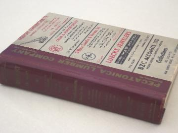 Freeport Illinois phone book / business directory, 1965 vintage  advertising
