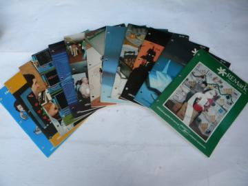 Full year 1984 vintage Heath User's Group Remark magazines Heathkit/Zenith