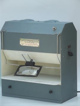 GIA DiamondLite, vintage jeweler's light box for grading diamonds & gems