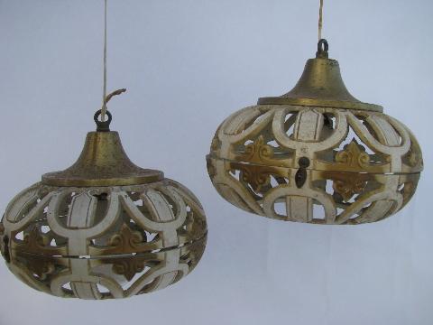 Groovy vintage swag lamp pendant lights ornate french ivory gold groovy vintage swag lamp pendant lights ornate french ivory gold boho gypsy retro aloadofball Gallery