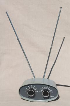 Ham radio Hy-Gain SWL tunable dipole  antenna, vintage shortwave radio antenna