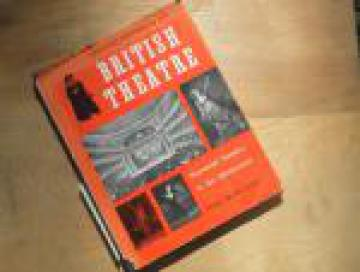 History of British Theater with over 500 pictures, vintage 1957