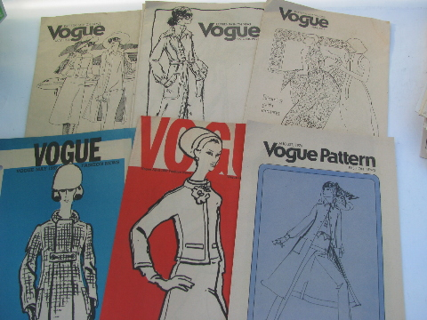 Huge lot of retro 70s vintage mod sewing pattern catalog fashion booklets