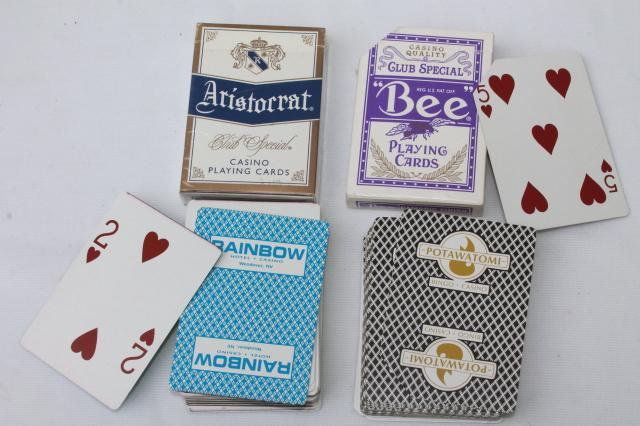 huge lot vintage playing cards, children's card games, souvenir novelty cards