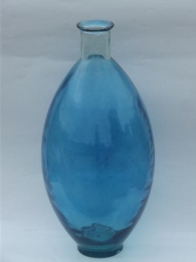 Huge Spanish urn floor vase in aqua blue, eco friendly recycled gl on aqua floor tile, aqua floor pillow, aqua teapot, aqua ceramic vase, aqua black vase, aqua pottery vase, aqua tray, aqua basket, aqua blue vase,