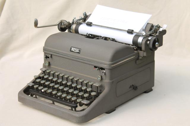 All about props rent typewriter props.