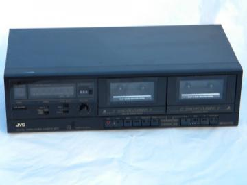 JVC model TD-W106 stereo double cassette tape deck