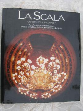 La Scala opera & ballet, '79 English translation book w/tons of photos