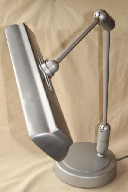 Lightolier Vintage Swivelier Drafting Table Work Light