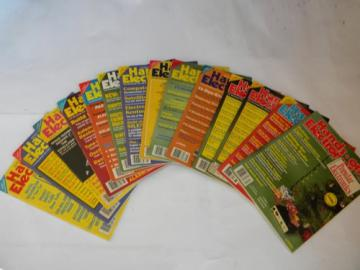 Lot 1980s vintage Hands On Electronic magazines w/lots of projects