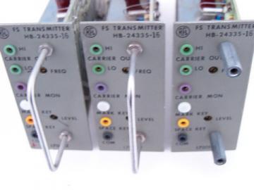 Lot 3 industrial RFL transmitters/signal osc-mod FS HB-24335-16