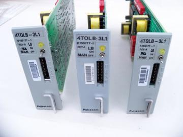 Lot 4 Pulsecom 4TOLB-3L1 4-wire transmission only channel units