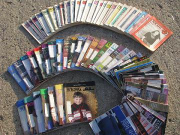 Lot 70 issues knitting machine pattern magazines, knitter's source