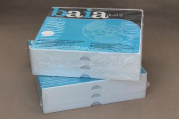 Lot blank 8mm film reels sealed packages, Baia Dual / Super 8 movie film rolls