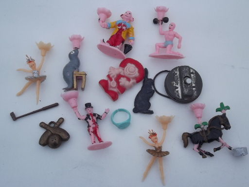 Lot Cheap Junk Vintage Toys Retro Cereal Box Prizes