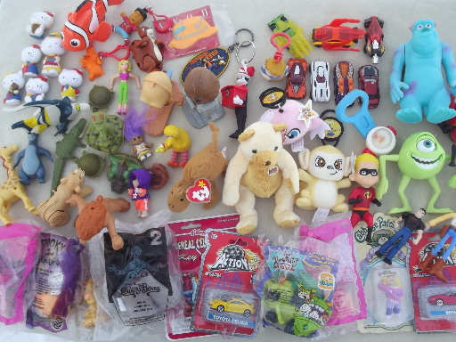 Cracker Barrel Toys : Lot happy meal toys and other small burger king