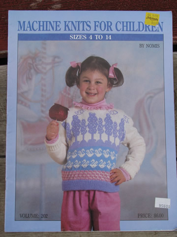 Lot Knitting Machine Books Baby Things And Childrens Sweater Patterns