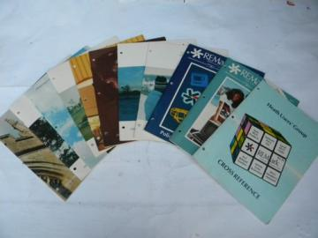 Lot of 11 1980s vintage Heath / Zenith Remark magazines Heathkit