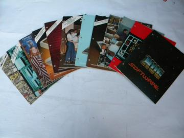 Lot of 12 1980s vintage Heathkit Zenith Remark magazines Heath User's Group