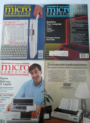 Lot of 1980s Computers&Electronics/Popular Electronics magazines early PC vintage