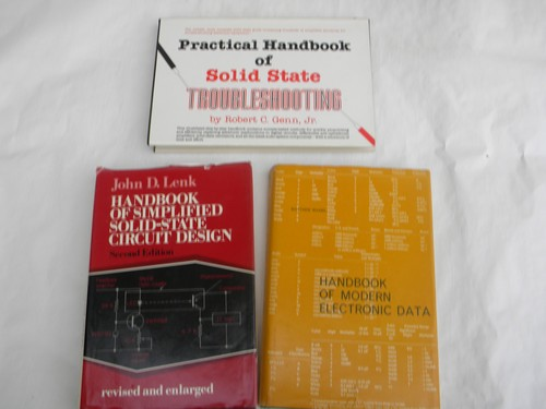 Lot of solid-state electronics technical handbooks