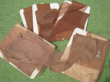 Lot retro 60s-70s vintage nylon stretch stockings lot, never used