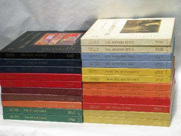 Lot Time-Life Story of Great Music classical LP records sets