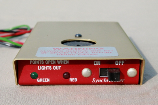 Timing light synchronizer for static ignition timing buzz box magneto timing light synchronizer for static ignition timing buzz box timing light sciox Gallery