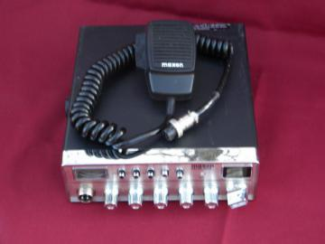 Maxon MCB-60A CB radio w/microphone handset and original box