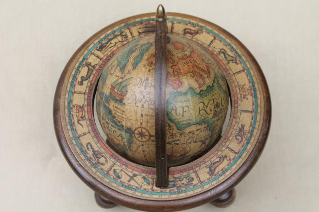 Kitchen Furniture Price Best Free Home Design Idea  : medieval style astrolabe sphere decorative wood globe 60s vintage desk accessory 1stopretroshop z714147 13 from www.apachewe.us size 640 x 426 jpeg 40kB
