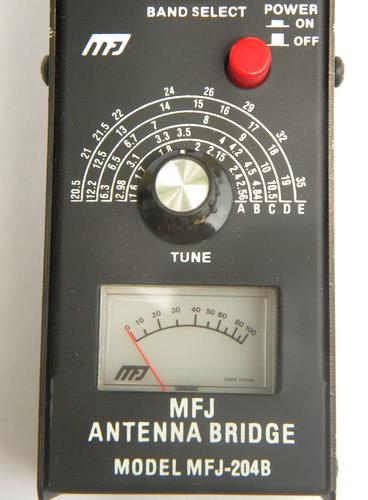 MFJ antenna bridge MFJ-204B shortwave ham radio gear