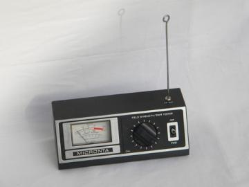 Micronta  field strength/SWR tester for short wave ham radio antenna