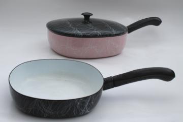 Retro Vintage Pots And Pans