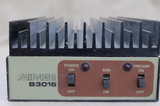 Mirage B3016 VHF 2 meter amplifier, 30 watts in, 160 watts out radio