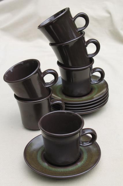 Mod 60s 70s Vintage Madeira Franciscan Pottery Retro