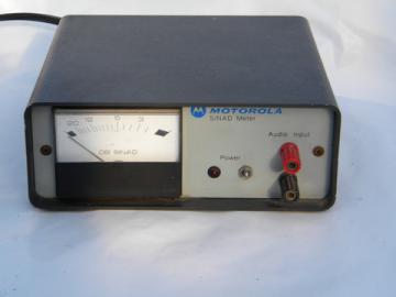 Motorola R-1013A Sinad meter AC/DC radio tuning