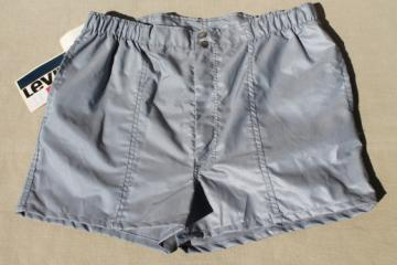 New old stock vintage Levi's gym shorts, track running sport shorts boys XL