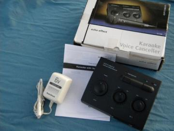 Optimus Karaoke Voice Canceler 32-1168 w/original box