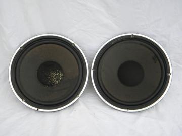 Pair of Fisher 10'' SC80676AX speakers, vintage Japan