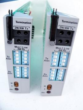 Pair of TeleSciences 606 network termination modules/boards