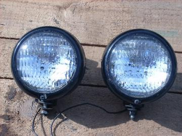 Pair vintage Do-Ray 530 fog/driving lights, hot rod vintage.