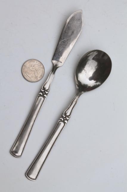 Pattern 66 Silverware Orleans Silver Vintage Japan