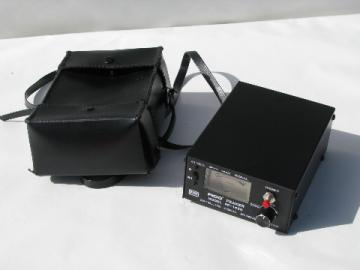 Pico Peaker PP-1450 satellite antenna signal strength meter w/case