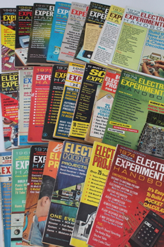 Popular Electronics / Electronic Experimenter's Handbook, vintage DIY project magazines