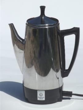 Presto 12 cup coffee maker, stainless steel coffee percolator #0281105