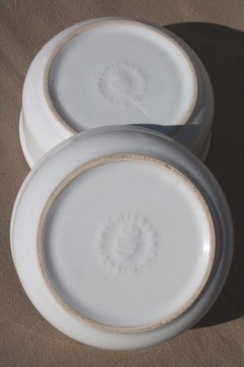 Quaker Oats Oatmeal Bowls Vintage Waechtersbach Pottery