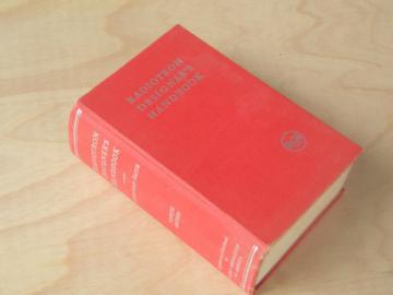 Radiotron Designer's Handbook,  1950s out of print radio technical book