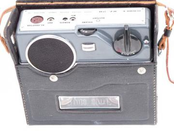 Rare mid-century 1950s vintage Apolex RA-20 portable reel-to-reel tape player, Japan